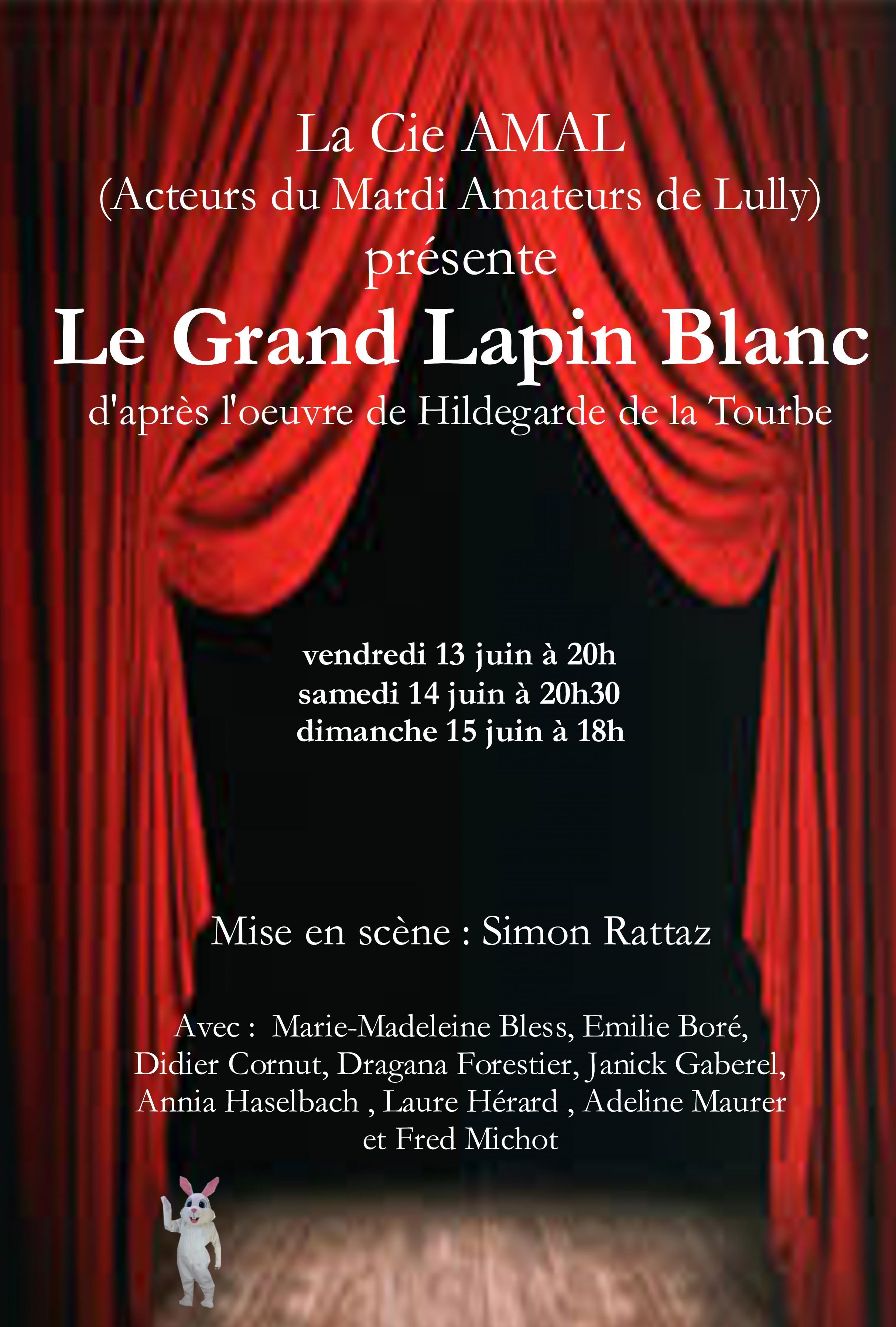 Le Grand Lapin Blanc - juin 2014