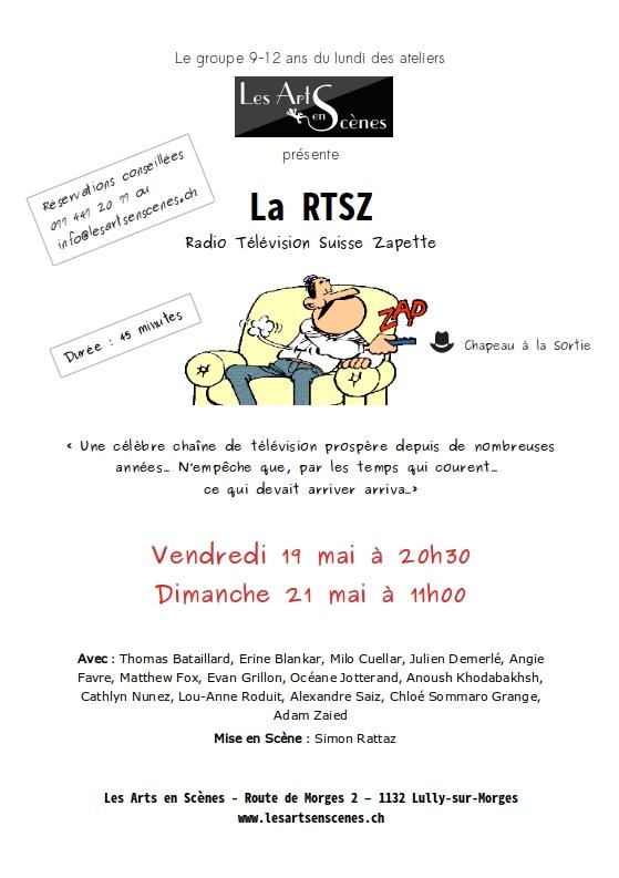La  RTSZ (Radio Télévision Suisse Zapette)